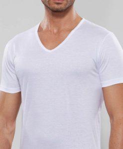 T-shirt scollo a V GT101 Il Granchio