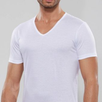 T-shirt scollo a V GT101 Il Granchio