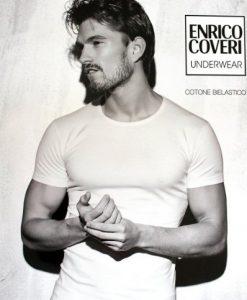 T-shirt girocollo ET1000 Enrico Coveri