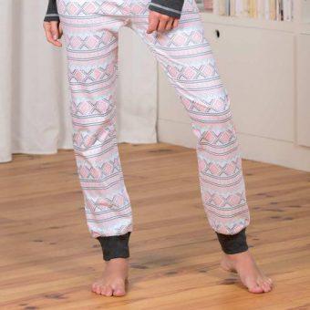 pyjama-femme-caribou-anthracite-ecru-zoom-1